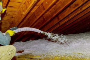 Attic Insulation Flint Blown In Fiberglass All Weather Seal